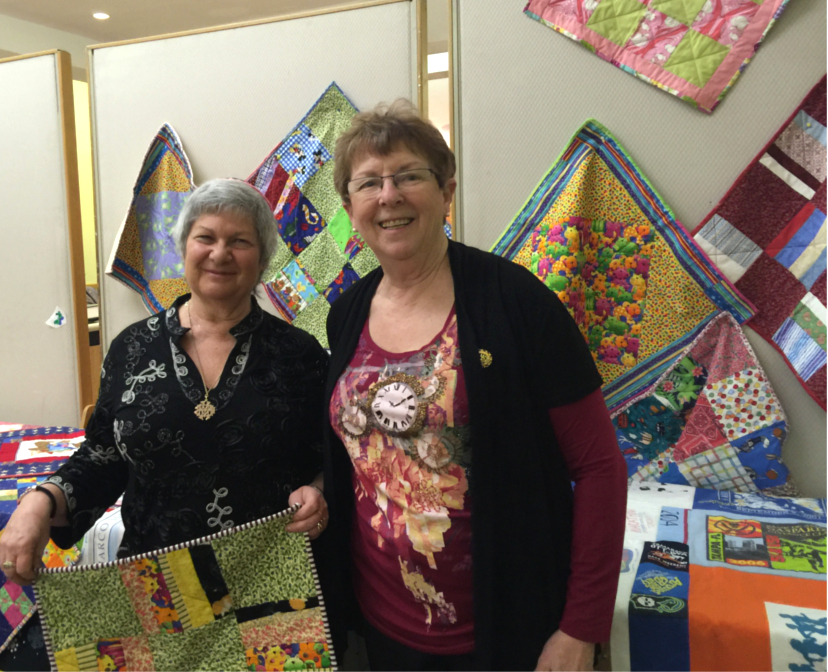 Temple Israel Quilts and Coordinators