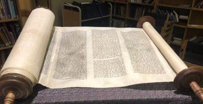 Temple Israel's Holocaust Scroll from Dvur Kralove, Czech Republic